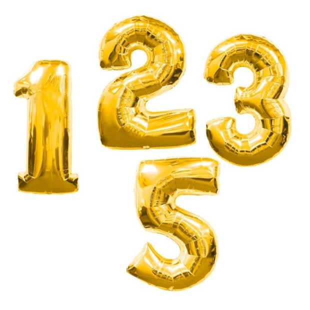Воздушные шары цифры